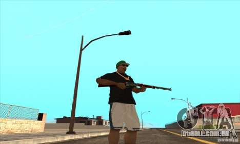 WEAPON BY SWORD para GTA San Andreas nono tela
