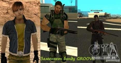Pak personagens de Resident Evil para GTA San Andreas sétima tela