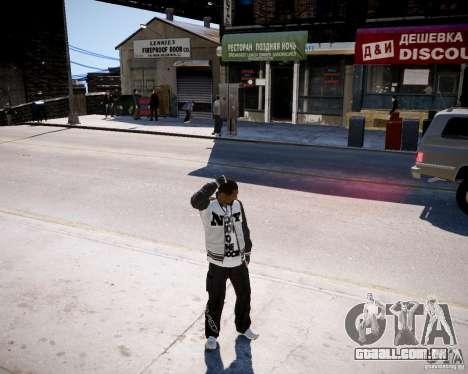 Niko - Cj para GTA 4 terceira tela