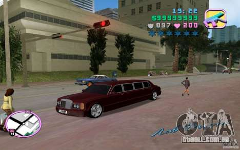 Rolls Royce Silver Seraph para GTA Vice City vista direita