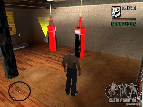 Punshbag para GTA San Andreas terceira tela