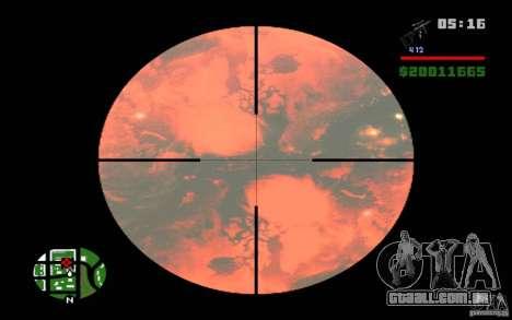Nibiru-planeta X para GTA San Andreas segunda tela