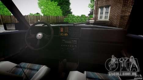Lancia Delta HF 4WD para GTA 4 vista inferior