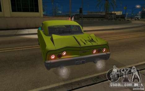 Chevrolet Impala SS 1964 para GTA San Andreas vista direita