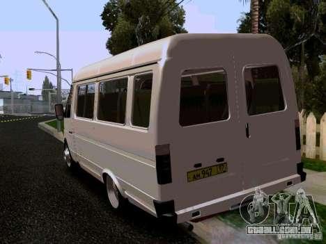 Gazela 32213 1994 para GTA San Andreas esquerda vista