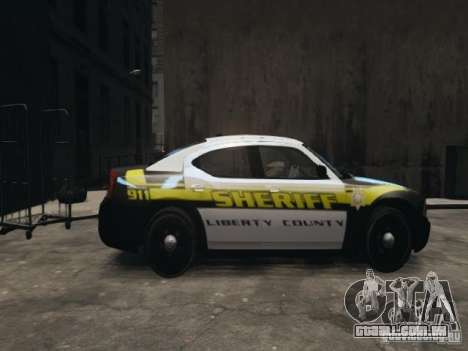 Dodge Charger Slicktop 2010 para GTA 4 esquerda vista