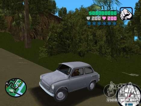 ZAZ 965 para GTA Vice City vista traseira esquerda