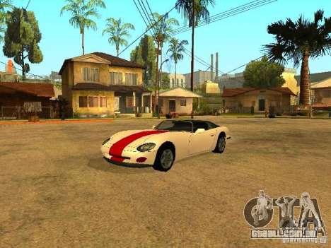 Spawn de carros para GTA San Andreas por diante tela