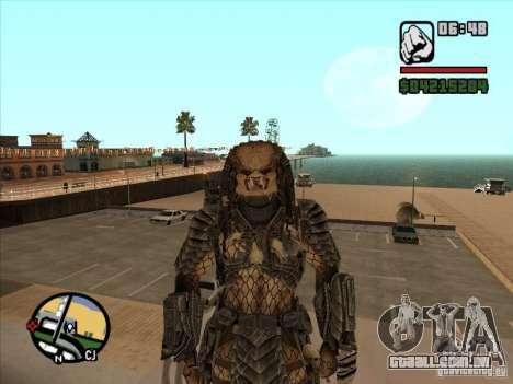 Predador Predator para GTA San Andreas