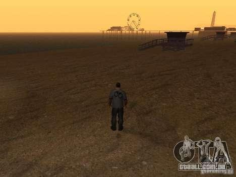HD Santa Maria Beach para GTA San Andreas quinto tela