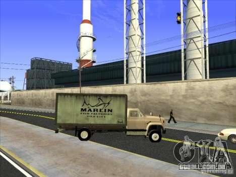 Yankee baseado no GMC para GTA San Andreas vista superior