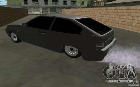 VAZ-2112 Coupe para GTA San Andreas esquerda vista