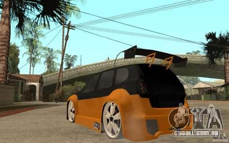 Dacia Duster Tuning v1 para GTA San Andreas traseira esquerda vista