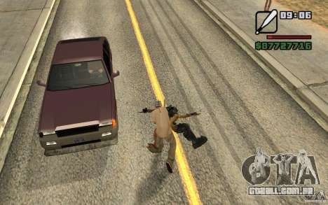 CJ caça V 2.0 para GTA San Andreas segunda tela