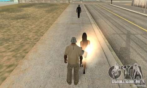 SuperClon (clonagem pessoas em SAN ANDREAS) para GTA San Andreas segunda tela