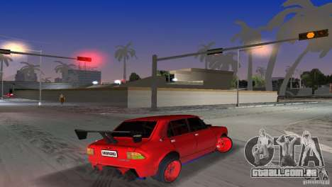 Zastava 110 GT para GTA Vice City deixou vista