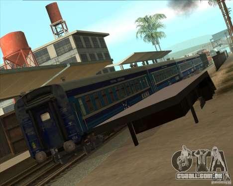 Carro KAMA para GTA San Andreas traseira esquerda vista