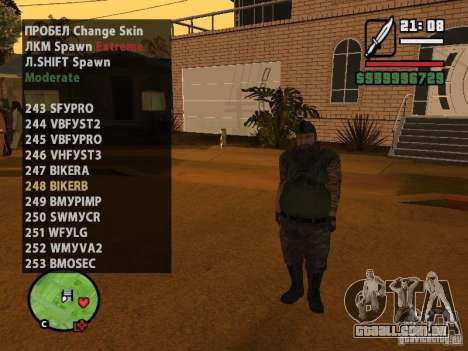 GTA IV peds to SA pack 100 peds para GTA San Andreas sétima tela