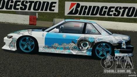 Nissan Silvia S13 Non-Grata [Final] para GTA 4 esquerda vista