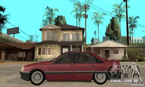 Opel Omega A para GTA San Andreas esquerda vista