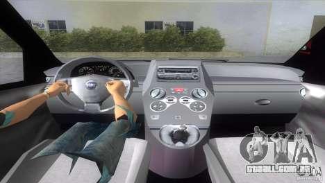 Fiat Panda 2004 para GTA Vice City vista traseira esquerda
