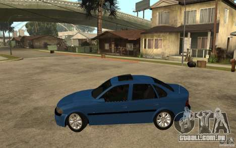 Opel Vectra CD 1997 para GTA San Andreas esquerda vista