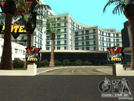 Novas texturas para V-Rock para GTA San Andreas
