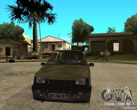 OKA 1111 Kamaz para GTA San Andreas vista traseira