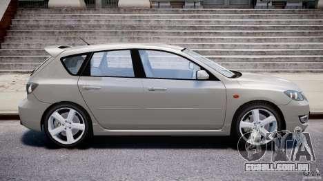 Mazda 3 2004 para GTA 4 esquerda vista