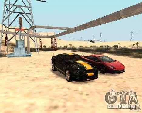 ENBSeries by Nikoo Bel para GTA San Andreas segunda tela