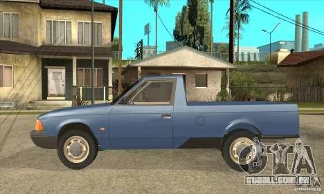 AZLK 2335 para GTA San Andreas esquerda vista