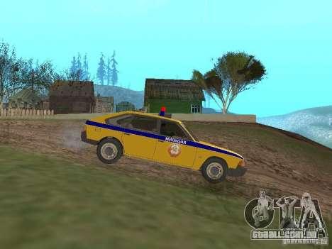 2141 AZLK GAI para GTA San Andreas esquerda vista
