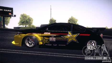 Scion TC Rockstar Team Drift para GTA San Andreas vista direita