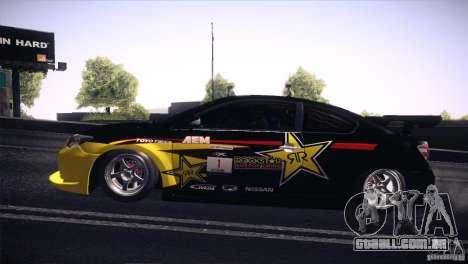 Scion TC Rockstar Team Drift para GTA San Andreas vista direita