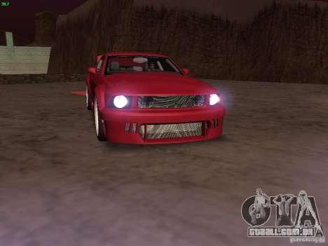 Ford Mustang GT 2005 Tuned para o motor de GTA San Andreas