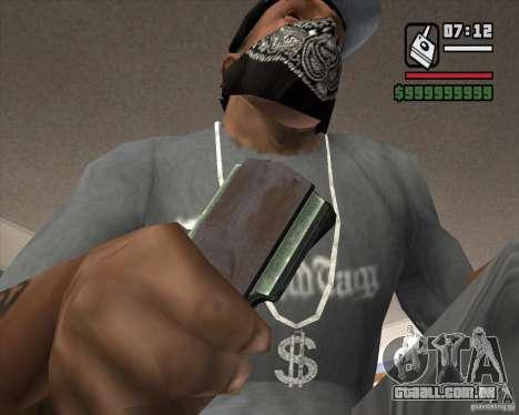 Detector de s. l. a. t. k. e. R # 4 para GTA San Andreas terceira tela