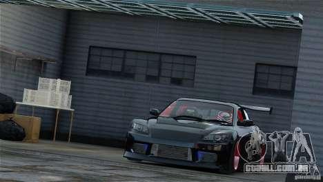 Mazda RX-8 Mad Mike para GTA 4 traseira esquerda vista