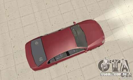Lexus GS430 1999 para GTA San Andreas traseira esquerda vista