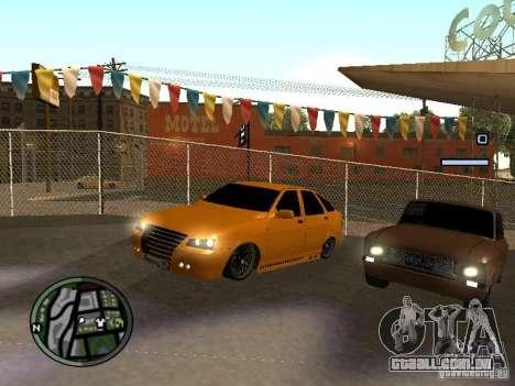Lada Priora DagStailing para GTA San Andreas