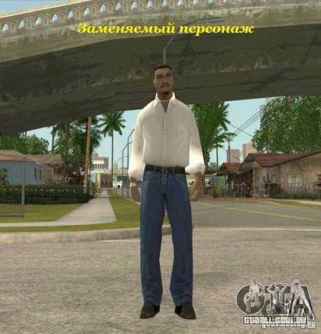 Assassins skins para GTA San Andreas por diante tela