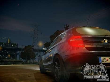 BMW 120i para GTA 4 vista inferior