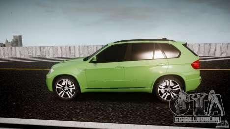 BMW X5 M-Power para GTA 4 esquerda vista