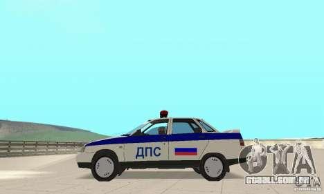 DPS VAZ 2110 para GTA San Andreas