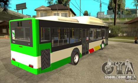 Mercedes Benz MAN Lions City CNG para GTA San Andreas