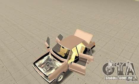 Ford Taunus 1978 para GTA San Andreas vista traseira
