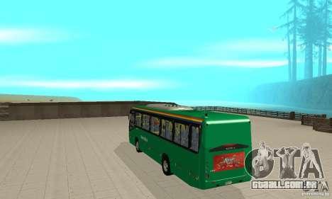MetroBus of Venezuela para GTA San Andreas vista direita