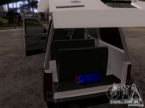 Plymouth Grand Voyager 1970 para GTA San Andreas vista interior