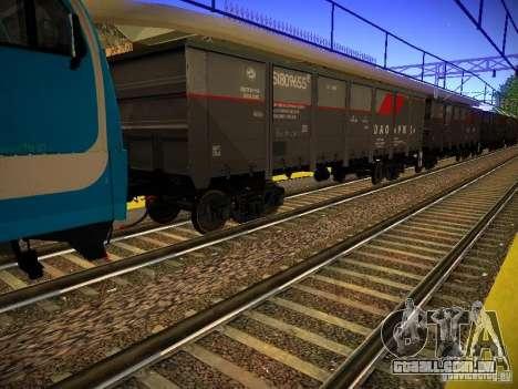 Novos trilhos para GTA San Andreas sexta tela