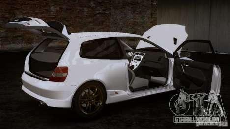 Honda Civic Type-R (EP3) para GTA 4 traseira esquerda vista