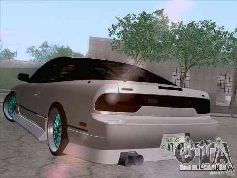 Nissan 240SX V2 para GTA San Andreas esquerda vista